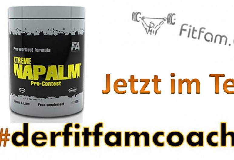fa nutrition xtreme napalm test