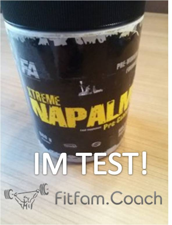 fa nutrition xtreme napalm test booster review