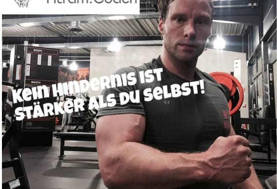 fitness motivationsspruch bild