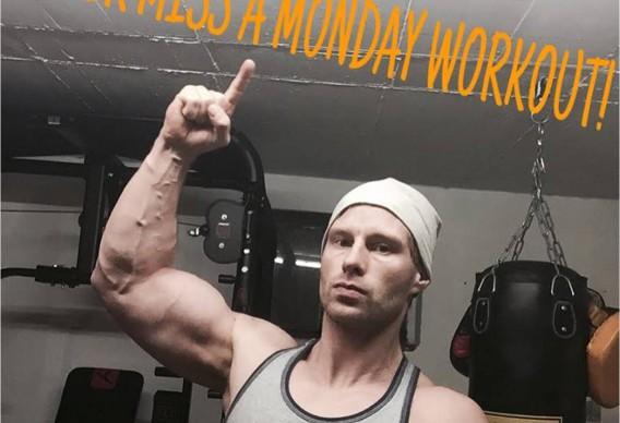 fitnessmotivation bild monday