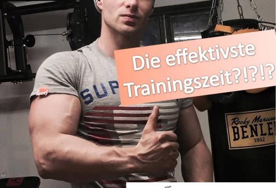 wann ist die ideale trainingszeit
