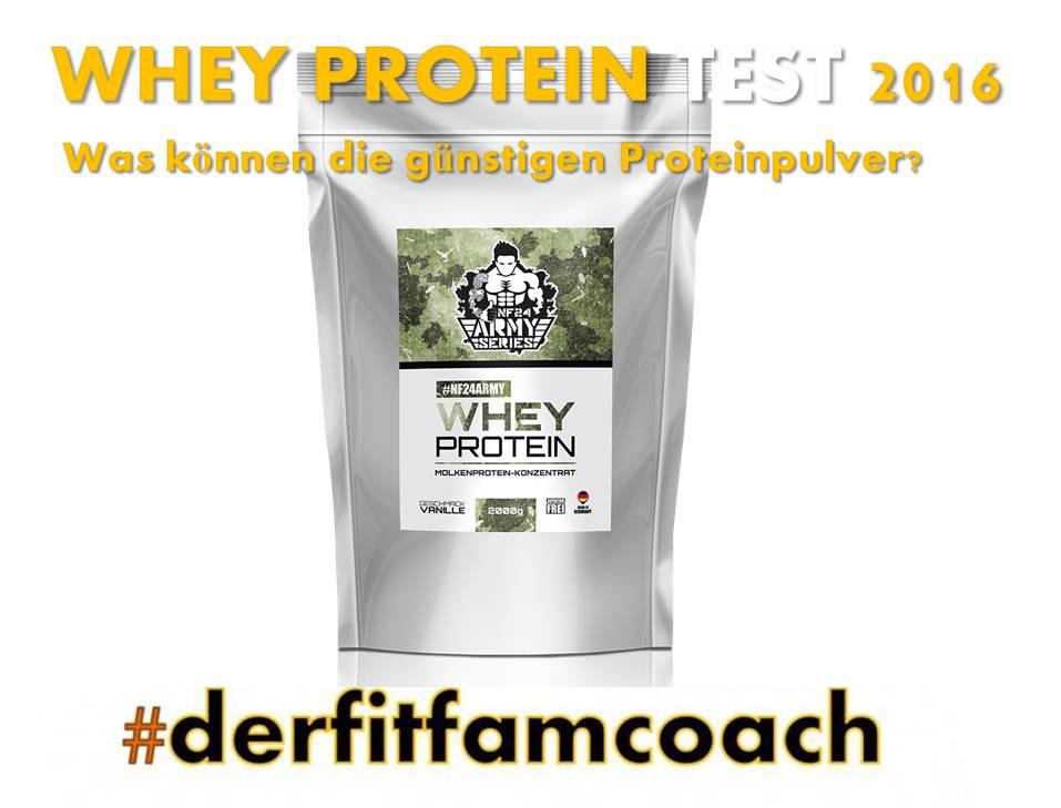 whey protein günstig gut
