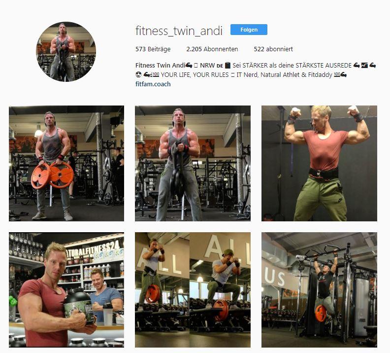 fitness blogger instagram
